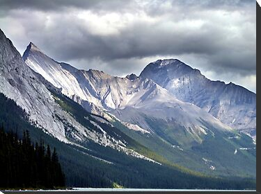 Rocky Mountain Peaks by George Cousins