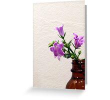 Bellflower Bouquet Greeting Card