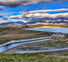 Pukaki Spillway, Gate 19 by Tony Burton