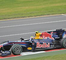 Mark Webber - Melbourne Grand Prix 2010 by Jamie Rutter