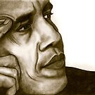 Barack Obama 1262 views by Margaret Sanderson