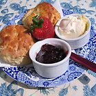 A clotted cream tea to die for... by hjaynefoster