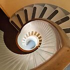 Lighthouse Spiral Stairs by Elizabeth Heath