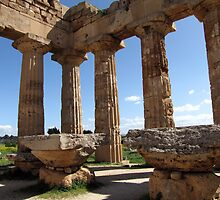 """Temple E"" - Archaeological Park of Selinunte, Sicily by jules572"