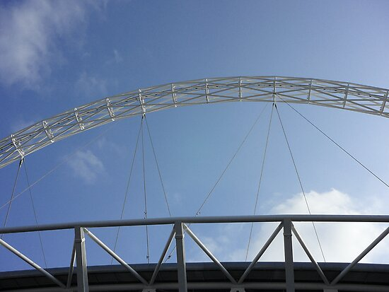Wembley Stadium Arc by Serunson