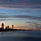 Surfer's Paradise lighting up by Richard Majlinder