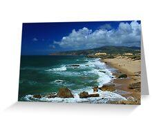 Guincho beach Greeting Card