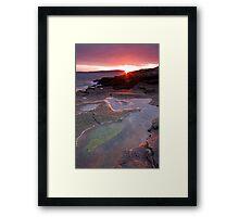 Elevated Tidal Pools Framed Print