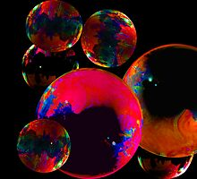 Tie-Dye Bubbles by Tim Scullion