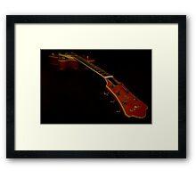 Guitar - Aria Bigsby Licensed Framed Print