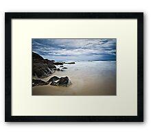 Connors Beach Framed Print