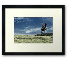 The King of Tyrconnell: Hugh Roe Ó Donnell Framed Print