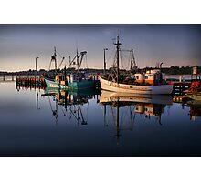 Lakes Entrance Fishing Boats Photographic Print