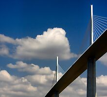 The Millau Viaduct by Amanda White