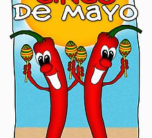 Cinco de Mayo Chilly Peppers by Moonlake