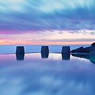 Coogee Baths Sunrise by Andrew McNeil