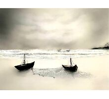 Grey Voyage by Sunayana