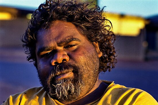 Jonothan Indigenous Tough Guy by Ronald Rockman