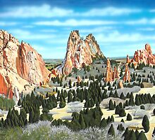 Garden of the Gods by ARTIST4HIRE