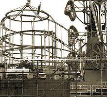 Coney Island ride - The Zipper by Geos