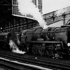 34017 at Bournemouth Central by Dikkidee