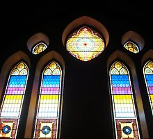 Stained Glass Windows - 5   ^ by ctheworld
