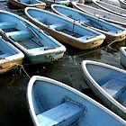 Teganuma boats - Abiko Japan by ennero