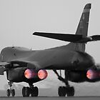 B-1B Lancer Burner by Stephen Titow