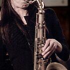 Melissa Aldana by Wayne Tucker