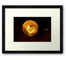 Golden Globe Framed Print
