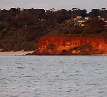 Red Bluff - Mornington by Karen Coulter