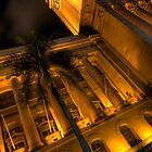 Brisbane City Hall by night by Ryan O'Donoghue