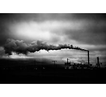 Industrial Eruption Photographic Print