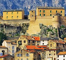Corte, the citadel and the city by Patrick Morand
