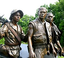 Three Servicemen 2 by Meredith Ward