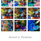 Artist's Palette by Michael  Petrizzo