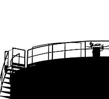cistern silouette by fabio piretti