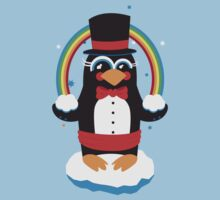 penguin Magic by redblackberries