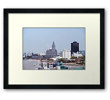 A View From The Bridge Framed Print