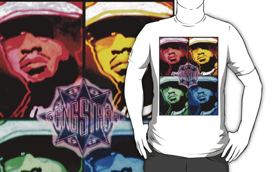 THE GURU (GANG STARR) TRIBUTE TEE by SOL  SKETCHES™