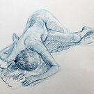 Life Drawing 17 by Mike Paget