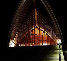Sydney Opera House at night by Rod Thompson