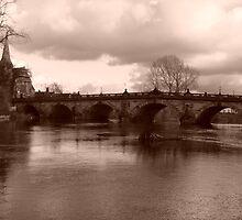 Old Town Bridge by Lazertooth
