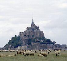 Mont St Michel by Peter Doré