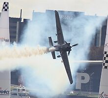 Hannes Arch At Perth Round of Red Bull Air Race 2010 by Stephen Horton