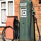Vintage gas pump by iOpeners
