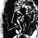 cigarette by sirbonessa