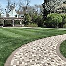 Follow the Gazebo Brick Road by Monnie Ryan