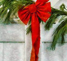 Christmas - Ribbon by Mike  Savad