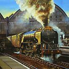 "A1 ""Balmoral"" leaves Kings Cross by Tom  Holland"